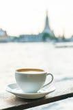 Café chaud de latte photo stock