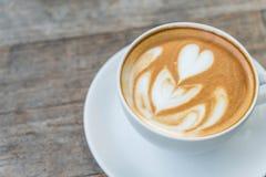 Café chaud de latte photographie stock