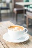 Café chaud de latte photos libres de droits