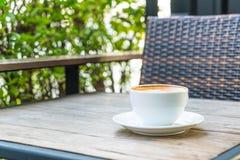 Café chaud de latte images stock
