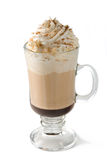 Café chaud de moka de café Photographie stock