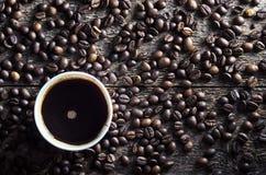 Café chaud frais Photos stock