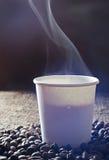 Café chaud frais Photographie stock libre de droits