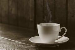 Café chaud, tasse de café d'expresso Photographie stock