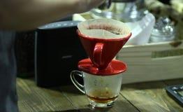 Café clássico do potenciômetro Foto de Stock