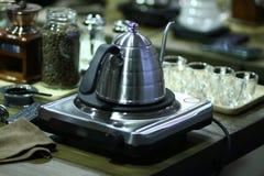Café clássico do potenciômetro Fotografia de Stock