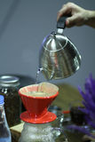 Café clássico do potenciômetro Imagem de Stock