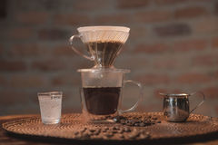 Café coado Stock Photos