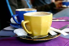 Café colorido Foto de Stock Royalty Free