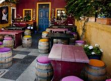 Café colorido Foto de Stock