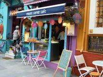 Café colorido de Istambul Imagens de Stock