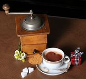 Café com amor Fotografia de Stock