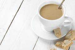 Café com biscoitos Fotos de Stock