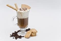Café com bolinhos. Fotos de Stock Royalty Free