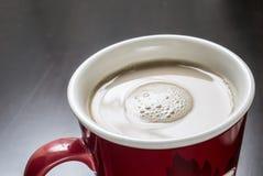Café con crema Imágenes de archivo libres de regalías