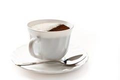 Café con el azúcar Fotos de archivo libres de regalías