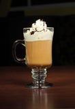 Café con el chocolate Imagen de archivo libre de regalías