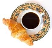 Café con la torta Fotografía de archivo libre de regalías