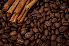 Café con las especias Imagenes de archivo
