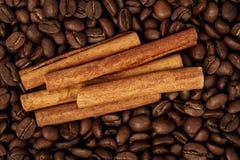 Café con las especias Fotografía de archivo