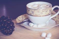 Café con las melcochas Fotos de archivo