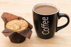 Café con un mollete Fotos de archivo