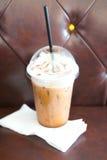 Café congelado do mocha fotografia de stock