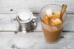 Café congelado vietnamiano fotos de stock royalty free