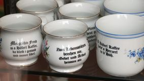 Café-copos Fotos de Stock
