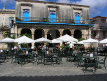 Café, Cuba Photos stock