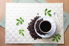 Café délicieux Photographie stock libre de droits