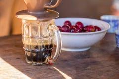 Café d'égouttement Photo stock
