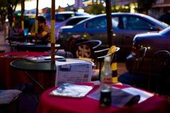 Café d'été photographie stock libre de droits