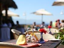 Café d'été Image libre de droits