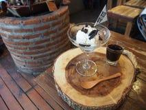 Café d'Affogato Photographie stock