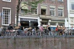 Café d'Amsterdam images stock