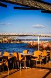 Café d'Empy dans l'endroit d'été Image stock