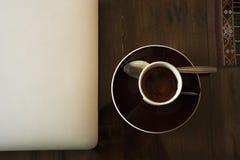 Café d'Espreso Photos libres de droits