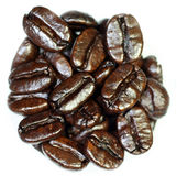 café d'haricots Photos stock