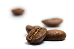 café d'haricots Photo libre de droits