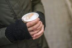 Café d'hiver Images libres de droits