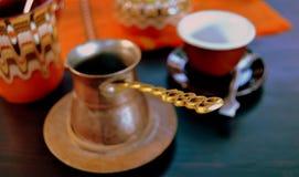 Café da areia em Bulgária 2 Fotos de Stock Royalty Free