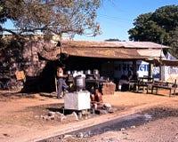 Café da borda da estrada, Jaipura Fotos de Stock Royalty Free