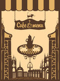 Café da cidade Foto de Stock Royalty Free