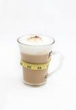 Café da dieta em um copo de vidro Imagens de Stock