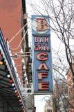 Café da grade da barra Foto de Stock Royalty Free