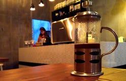 Café da imprensa do francês Foto de Stock