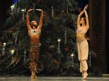 Café da música de Índia-Arábia da ioga - a quebra-nozes do bailado fotografia de stock royalty free