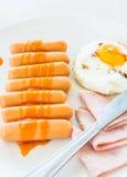 Café da manhã. Foto de Stock