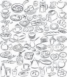 Café da manhã ilustração do vetor